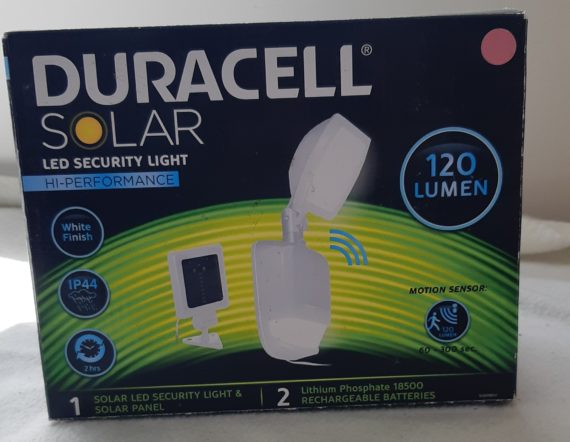 Duracell LED Security Light1